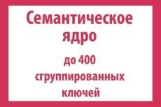 Семантическое ядро (СЯ) сайта 500 ключей c расчётом KEI 19 - kwork.ru