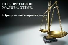 Составлю иск, жалобу, претензию 13 - kwork.ru