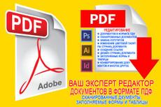 Конвертирую в PDF-формат презентацию PowerPoint, Impress 5 - kwork.ru