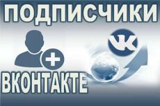 300 подписчиков на паблик Вконтакте, без ботов и программ 3 - kwork.ru