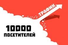 18000 Уникальных посетителей из России в течение 25 дней+Поведенческие 25 - kwork.ru