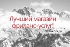 сделаю ролик с анимацией 9 - kwork.ru