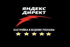 Профессиональная настройка Яндекс. Директ. Поиск. РСЯ. Ремаркетинг 28 - kwork.ru