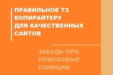 Профессиональное ТЗ для написания информационной статьи 17 - kwork.ru