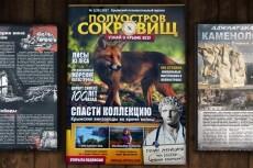 Разработаю верстку журнала 21 - kwork.ru