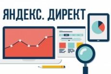 Настройка Яндекс Директ - поиск + РСЯ - Бонус - Сопровождение 16 - kwork.ru