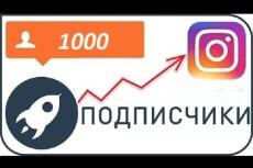 5000 русских подписчиков в Инстаграм. Раскрутка в instagram 14 - kwork.ru