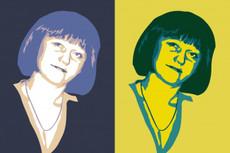 2 портрета в поп-арт стиле по фотографии 21 - kwork.ru