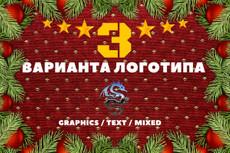 Оригинальный логотип для вашей компании или для вас лично 42 - kwork.ru