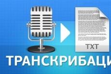 Качественная стенограмма 8 - kwork.ru