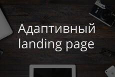 Верстка лендингов, адаптивно, быстро 12 - kwork.ru
