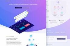 Адаптивный лендинг с индивидуальным дизайном на Wordpress теме Divi 60 - kwork.ru