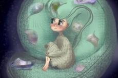 Нарисую иллюстрацию для книги 41 - kwork.ru