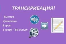 Сделаю транскрибацию, перевод из аудио в текст, перевод из видео в текст 23 - kwork.ru