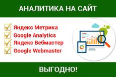 Установлю яндекс метрику и google аналитику на Ваш сайт 21 - kwork.ru
