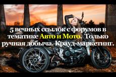 Семь вечных, уникальных ссылок с моих форумов 4 - kwork.ru