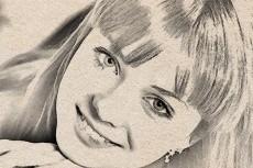 обработаю с помощью Фотошопа фото или рисунок в стиле чертежного наброска 4 - kwork.ru