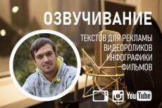 Озвучивание инфографики 8 - kwork.ru