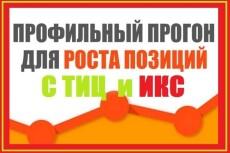 Вечные ссылки с профилей трастовых сайтов ТИЦ от 1500 до 3000 9 - kwork.ru