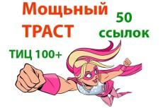 20 супертрастовых ссылок. ТИЦ от 1000 6 - kwork.ru