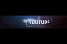 Дизайн шапки и лого на YouTube. Оформлю ваш канал 10 - kwork.ru