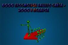 8000 тысяч просмотров для вашего сайта + 2000 тысячи в подарок 7 - kwork.ru