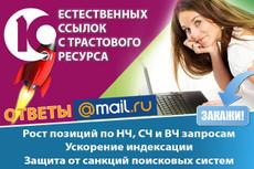 Размещение вечных ссылок на трастовых тематических ресурсах 5 - kwork.ru