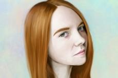 Цифровой портрет в стиле Dream-Art 19 - kwork.ru