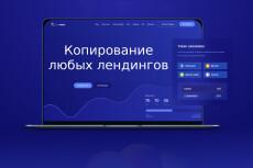 Скопирую Landing page за 1 день. Качественно. В срок 20 - kwork.ru