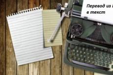 Транскрибация с аудио и видео файлов 5 - kwork.ru
