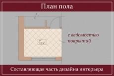 Дизайн интерьера 47 - kwork.ru