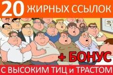 30 жирных ссылок с форумов и подарок 10 с тиц от 1000 15 - kwork.ru