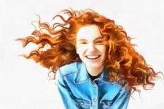Создам акварельный портрет по вашей фотографии 21 - kwork.ru