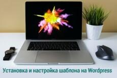 Установлю и настрою любой шаблон на WordPress 16 - kwork.ru