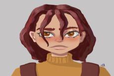 Напишу портрет в электронном виде 14 - kwork.ru