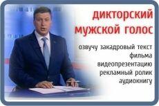 Озвучу рекламный или любой другой текст 4 - kwork.ru