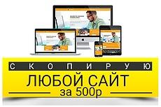 Скопирую Landing page за 1 день. Качественно. В срок 29 - kwork.ru