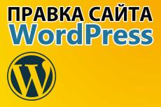 Wordpress выполню любые небольшие работы, правки по сайту 8 - kwork.ru
