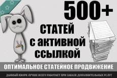 Ссылки c более 1000 сайтов с ТИЦ 10-650 3 - kwork.ru