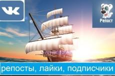 поставлю 1200 лайков ВКонтакте 3 - kwork.ru