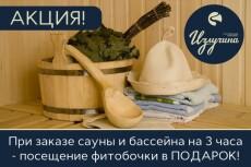 меню для ресторана,кафе 5 - kwork.ru