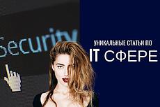 Напишу статью на тематику IT 3 - kwork.ru