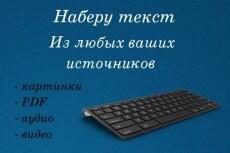 Переведу аудио, видео в грамотный текст 31 - kwork.ru