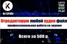 Улучшу звучание вашего голоса, вокала, войсовера 4 - kwork.ru