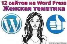 Автонаполняемый сайт. Женский Журнал. 10000 материалов 12 - kwork.ru