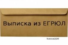 Предоставлю в кратчайшие сроки актуальную выписку из егрюл с ЭЦП 18 - kwork.ru