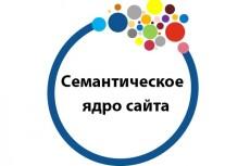 Семантическое ядро для сайта, 600 позиций 18 - kwork.ru