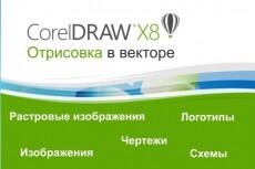 Перерисую растровую картинку в вектор 45 - kwork.ru