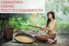 Семантическое ядро для сайта. До 400 слов 20 - kwork.ru