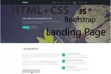 Вёрстка лендинга из PSD макета в HTML и CSS 8 - kwork.ru